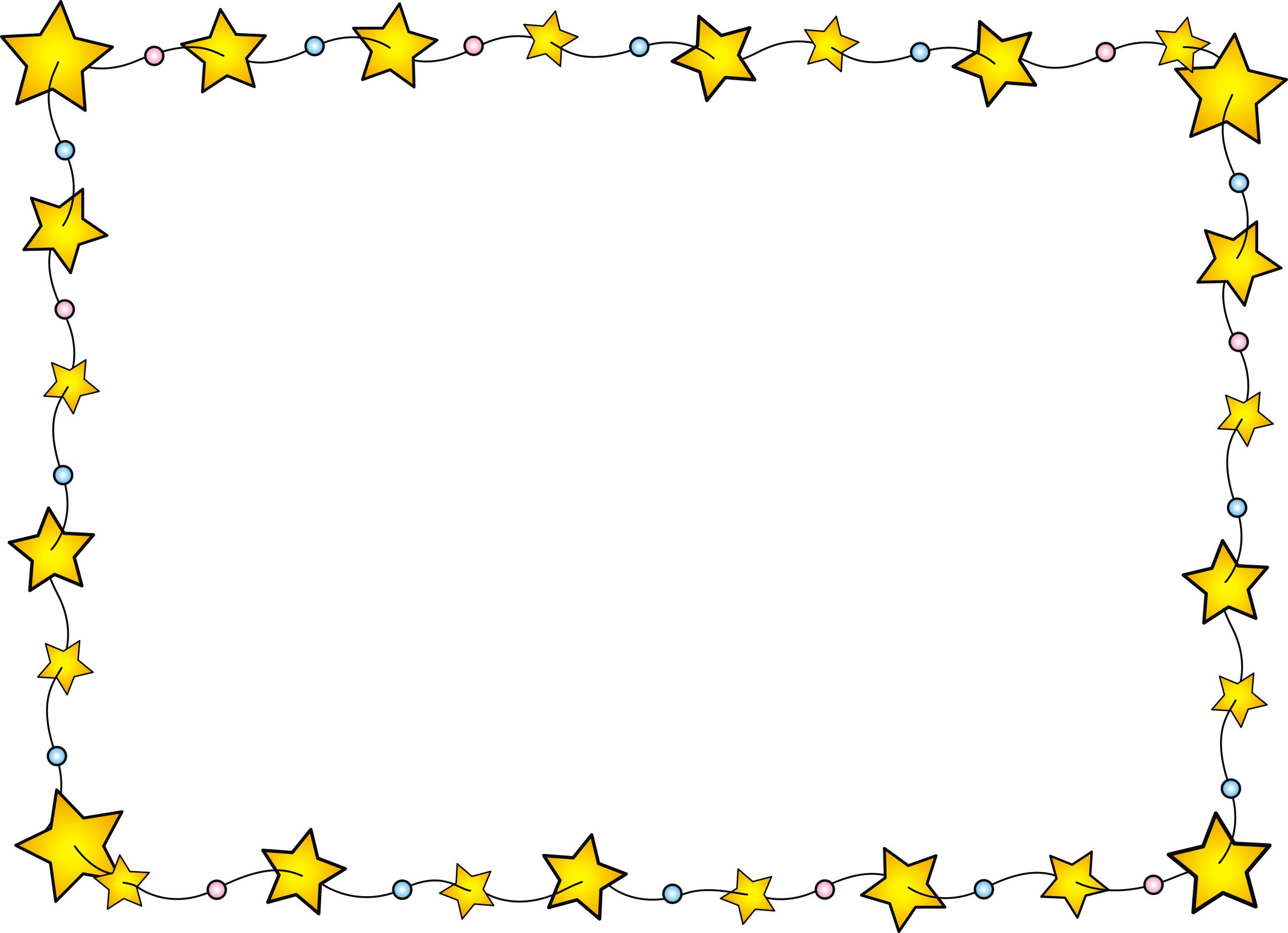 Stars vector transprent free. Star border png