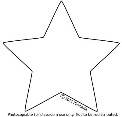 Free from pixabella. Star clip art black and white