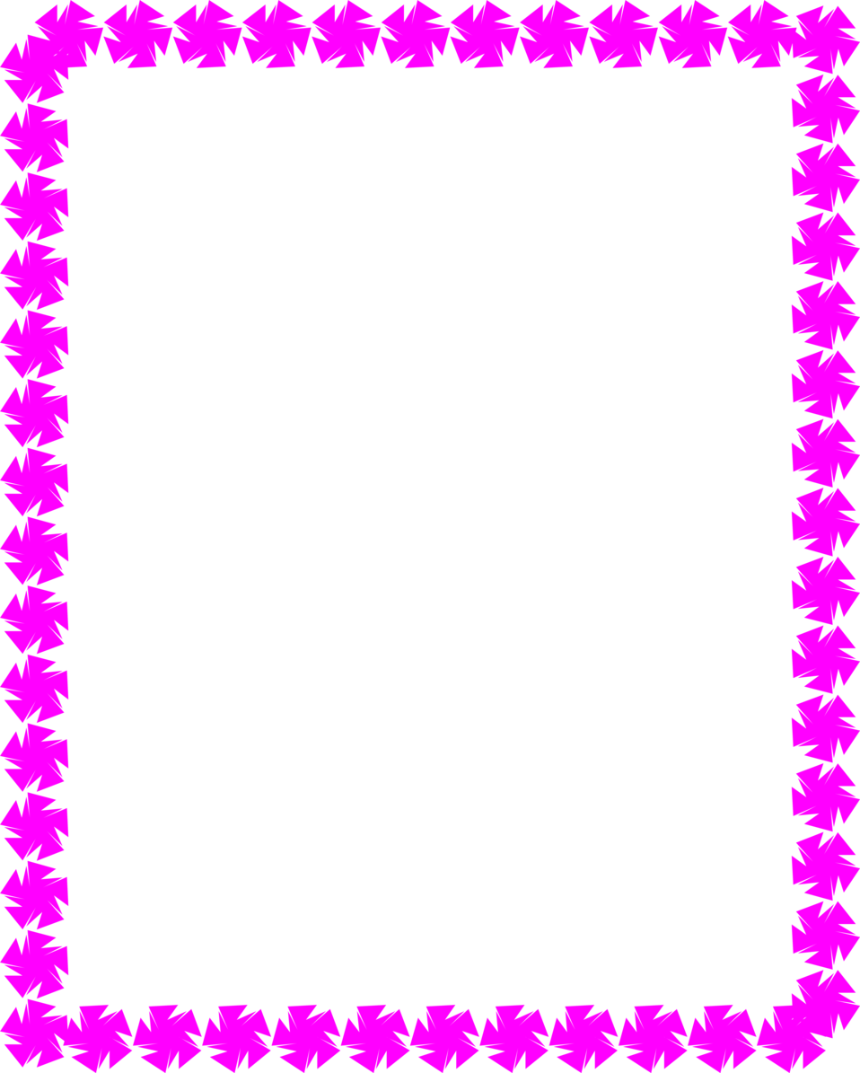Purple free stock photo. Star clip art border