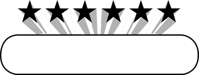 Stars black and white. Star clip art border
