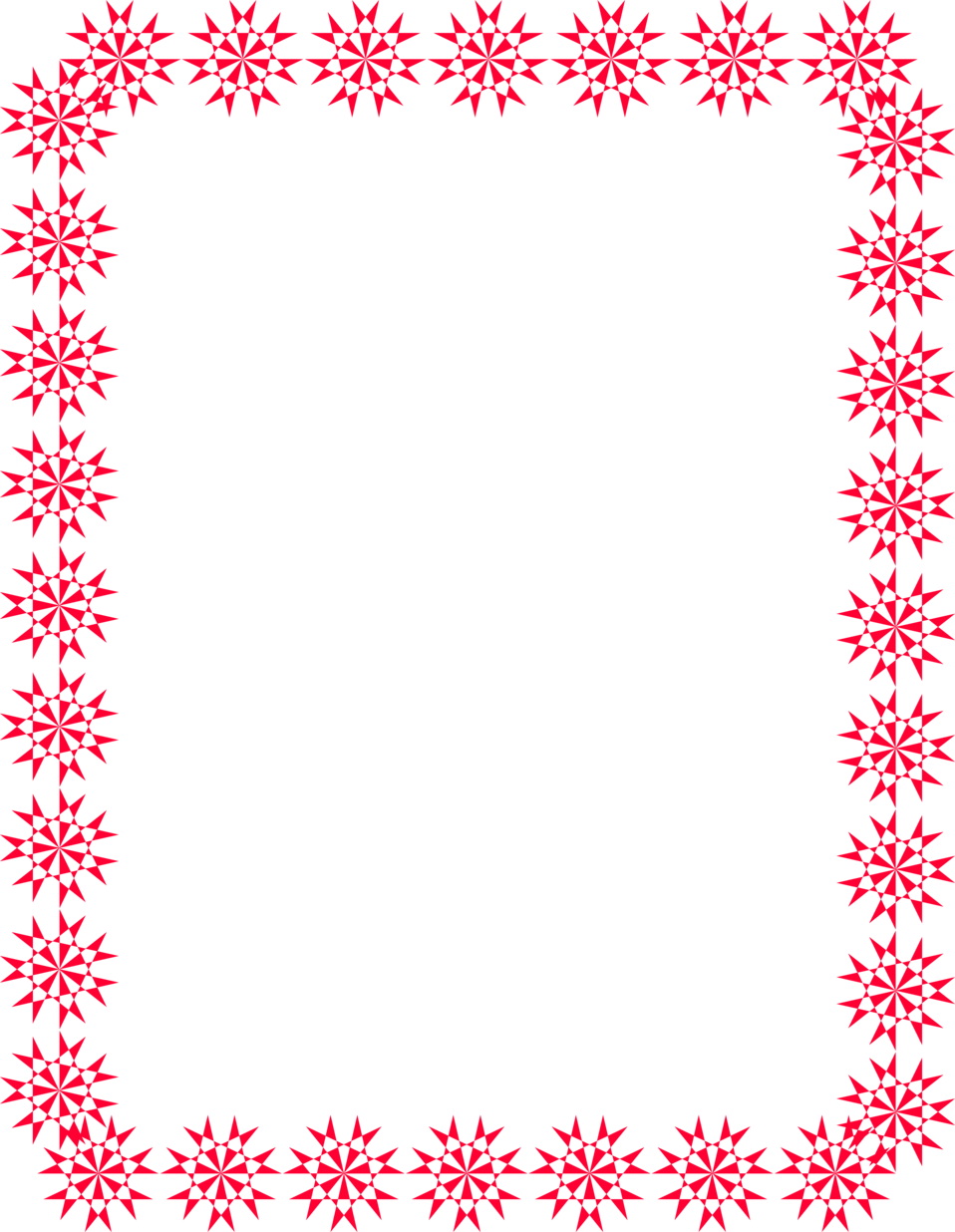 Border free stock photo. Frame clipart red