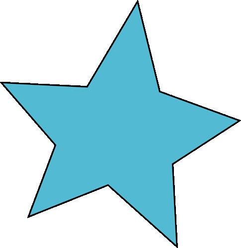 Star clip art cute. Blue image