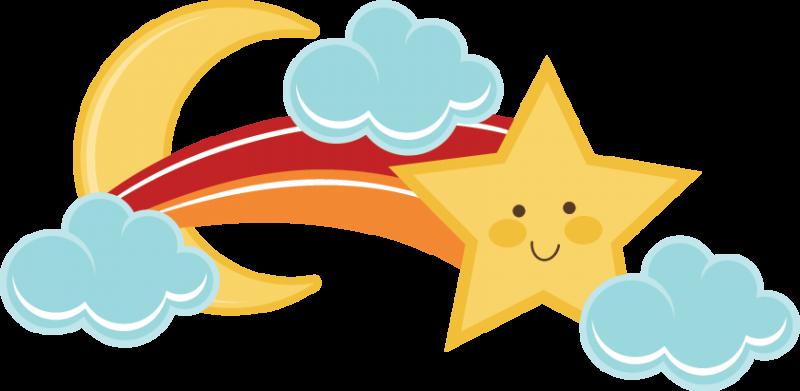 Shooting stars clipart cliparts. Star clip art cute
