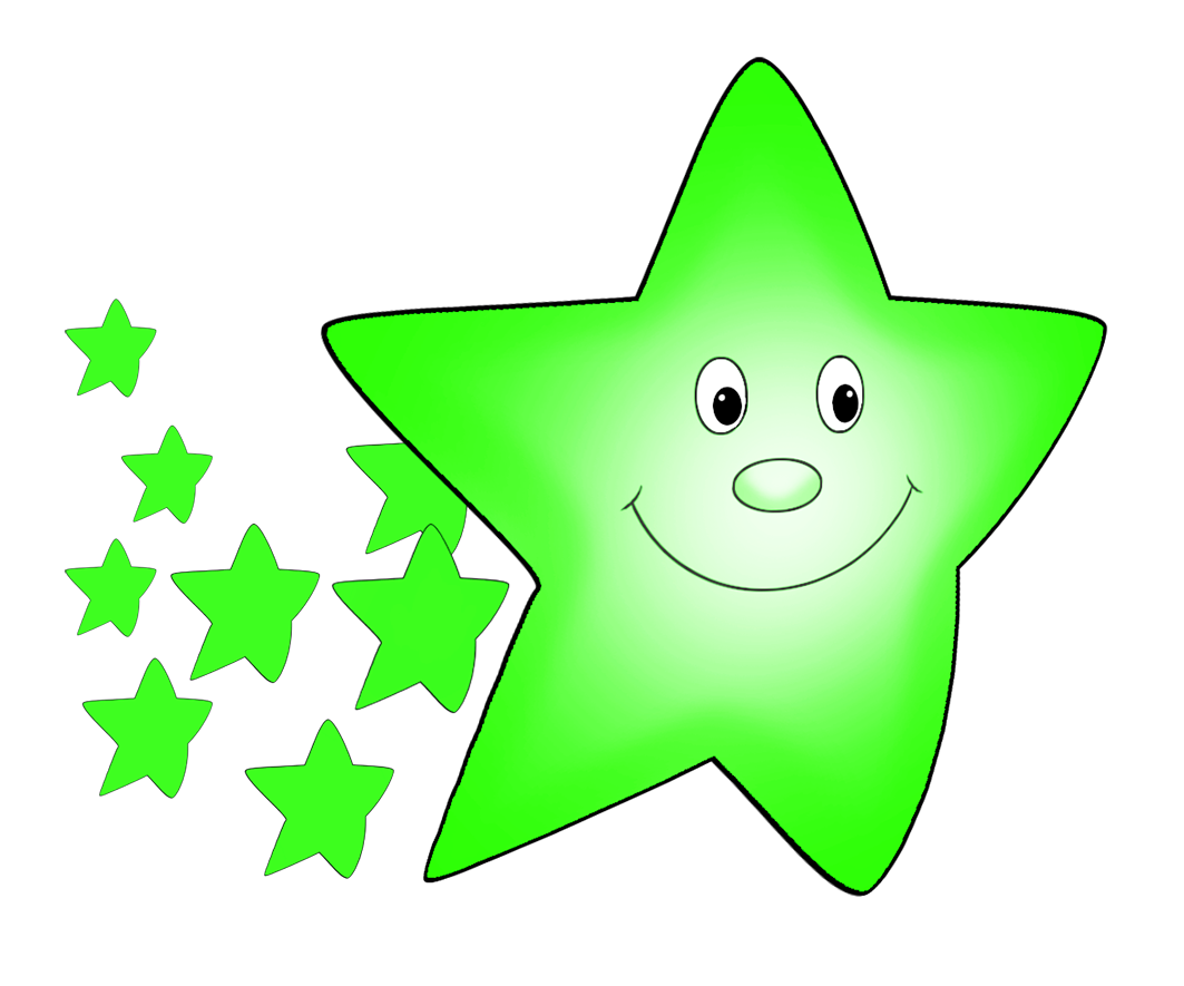 Clipart comet orange with. Star clip art cute