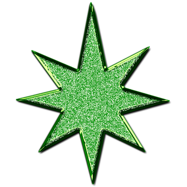 Star d green images. Glitter clipart royalty free