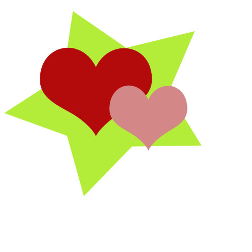 Hearts clipart star. Free stars cliparts download