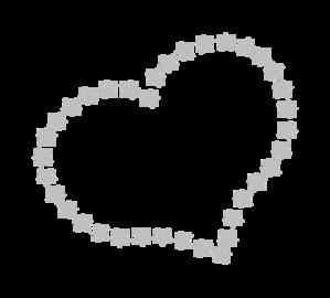 Star clip art heart. At clker com vector