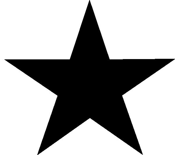 clipart star transparent background