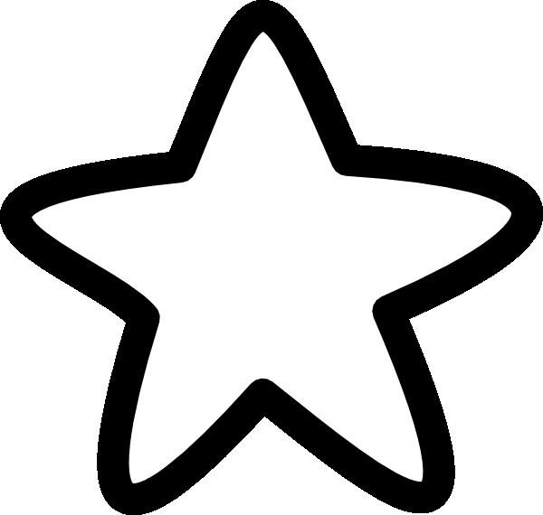 Geometry clipart preschool shape. White star clip art