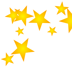 Free borders and downloadable. Star clip art printable