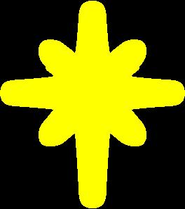 Star clip art shining star. At clker com vector