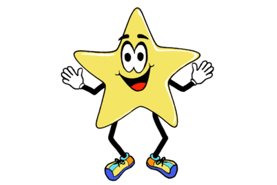 Donations each and every. Star clip art shining star