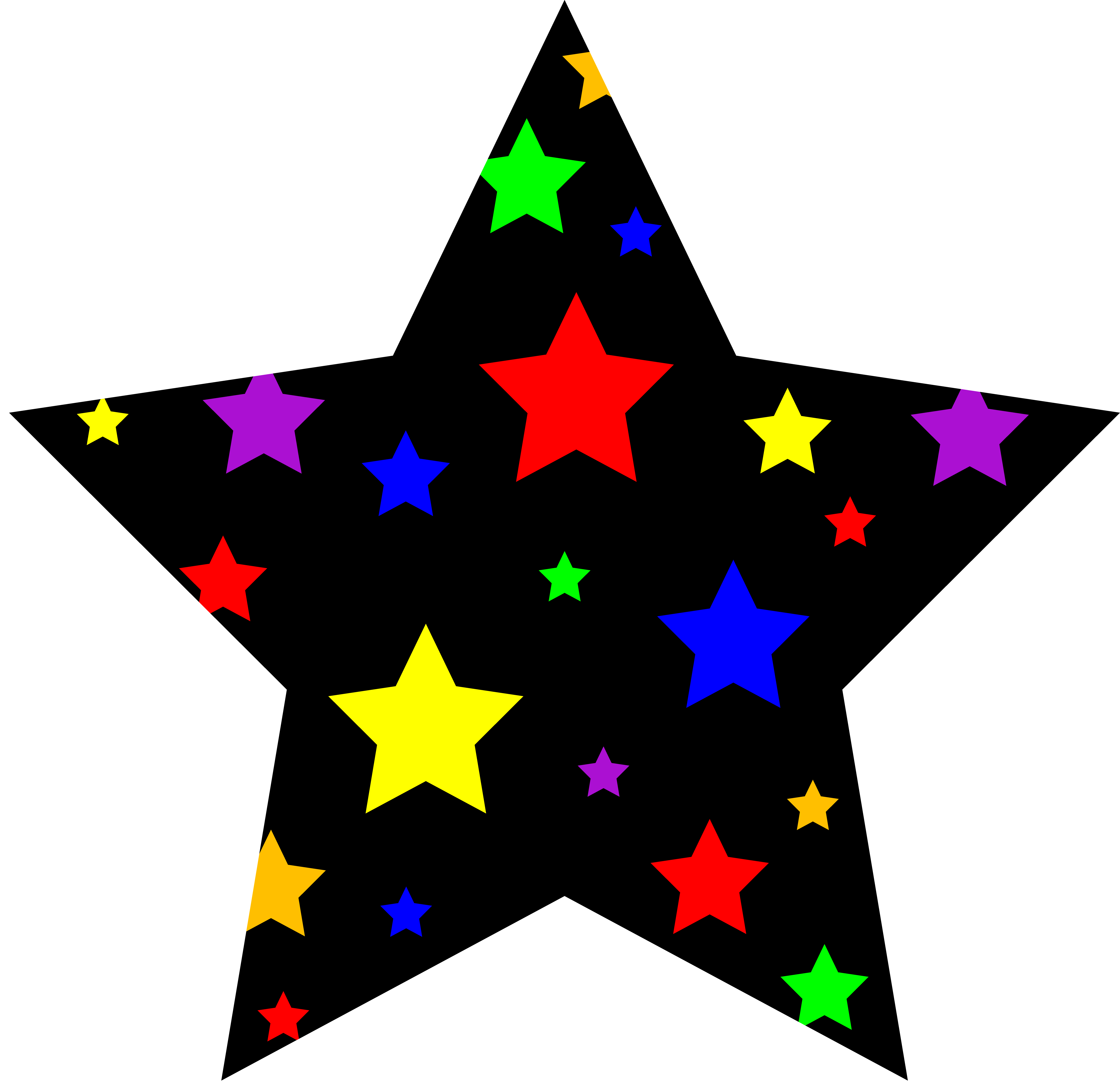th july new. Star clip art shining star