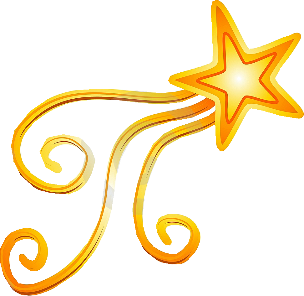Gold clipart shooting star, Gold shooting star Transparent ...