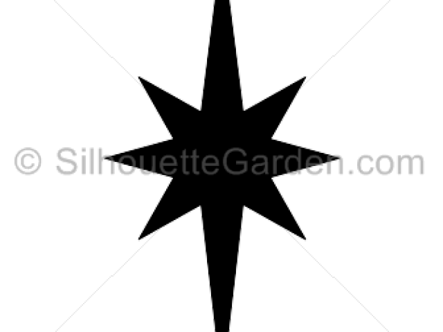 Star clip art silhouette. Angel free download carwad