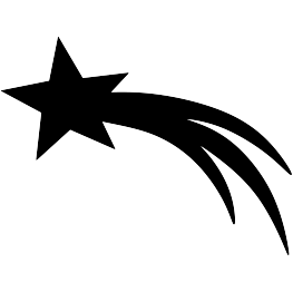 Star clip art silhouette. Free svg pdf png