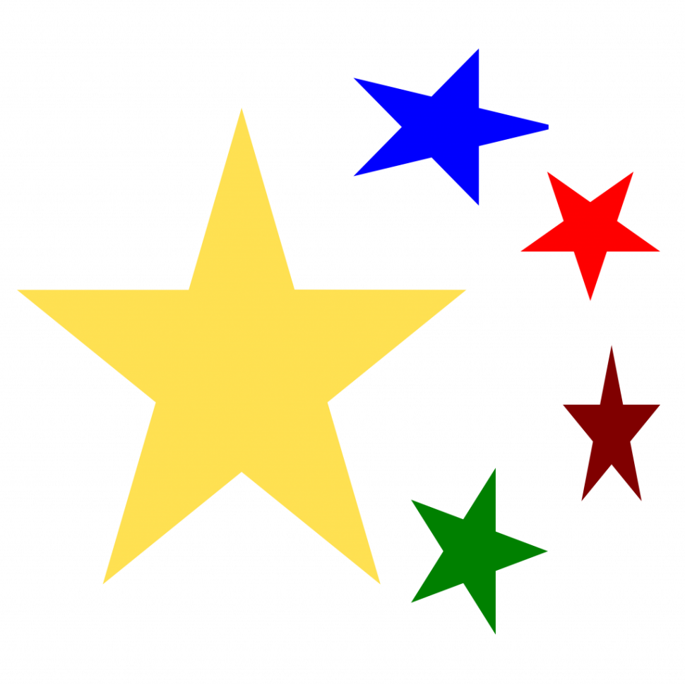 Clipart stars silhouette. Bethlehem star at getdrawings
