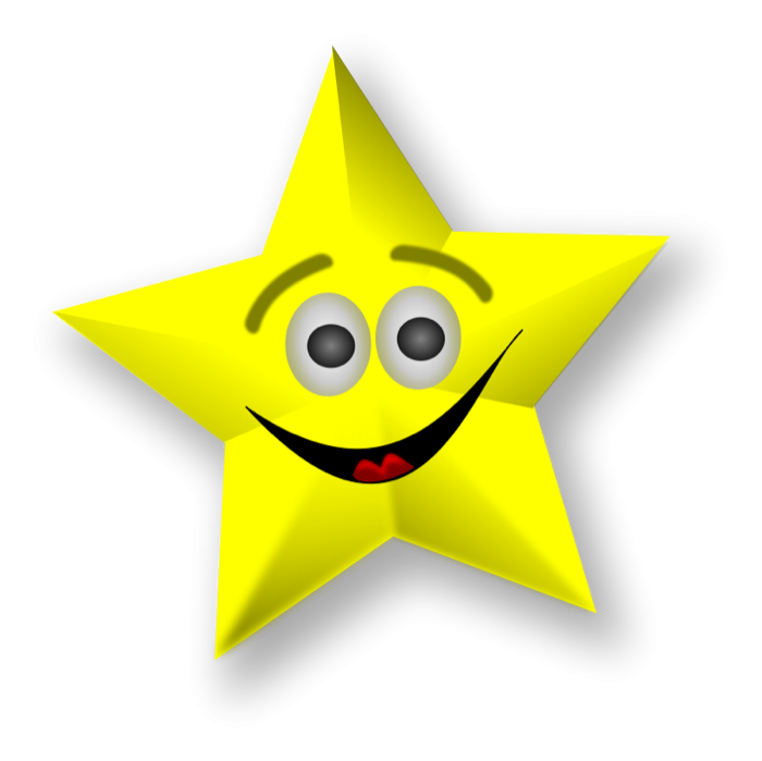 Moving clipart motion. Star and animated graphics