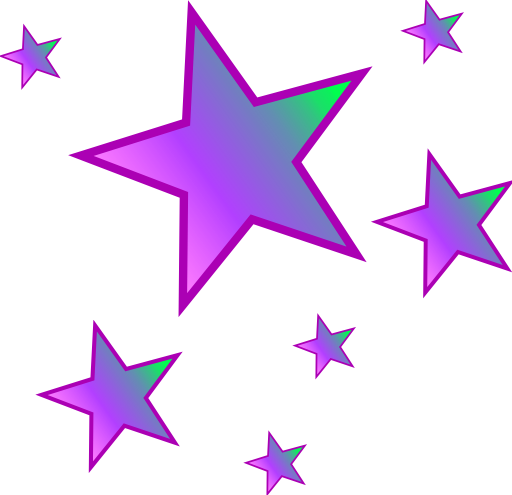 Star clip art star cluster. Group of stars clipart