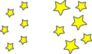 Clusters at clker com. Star clip art star cluster