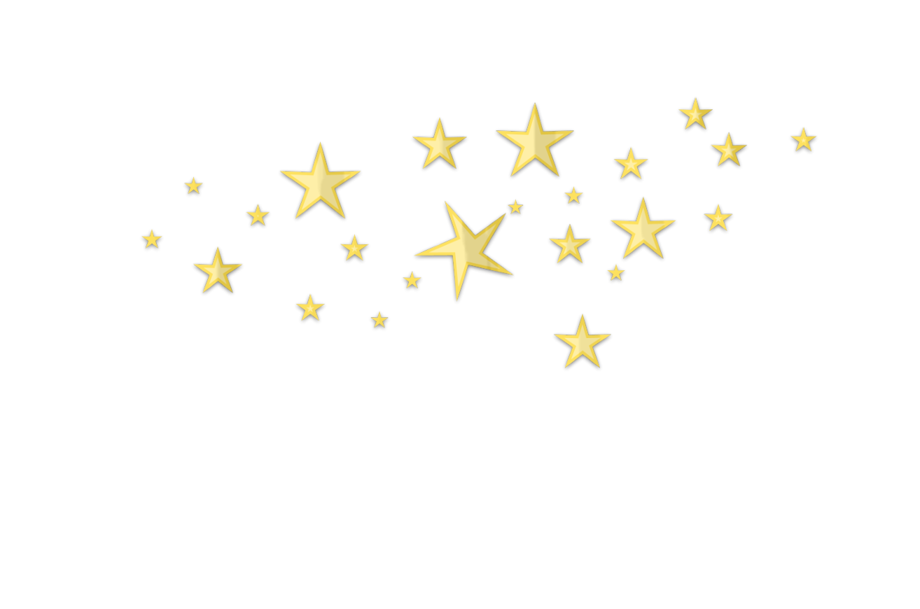 Star clip art star cluster. D clutter gold no