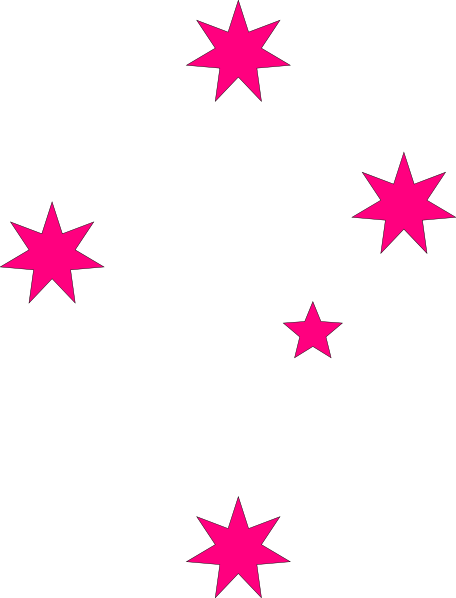 Pink stars at clker. Star clip art star cluster