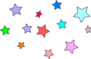 At clker com vector. Star clip art star cluster