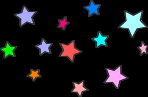 Star Cluster Clip Art at Clker
