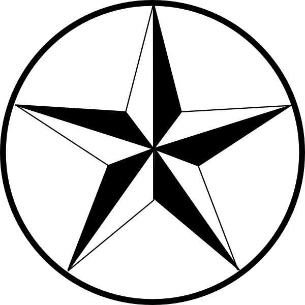 Star clip art star pattern. Texas at clker com