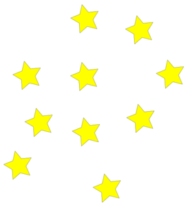 Yellow stars at clker. Star clip art star pattern