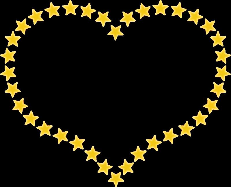 Clipart heart shaped border. Star clip art star shape