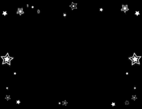 Free clip art image. Star border png