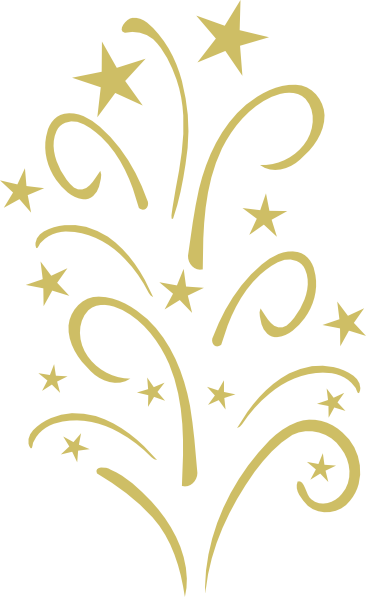 Starplose gold at clker. Star clip art swirl