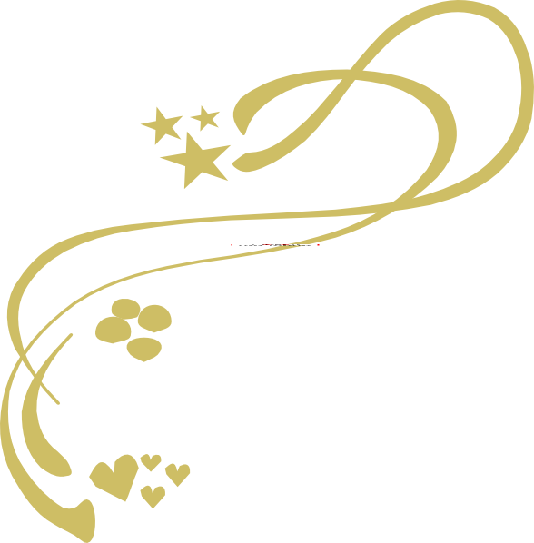 Gold design at clker. Star clip art swirl