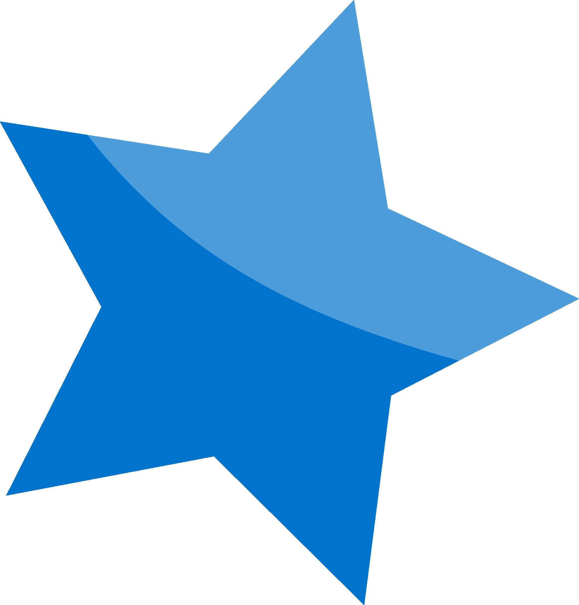 Star clip art transparent background. Blue png image free