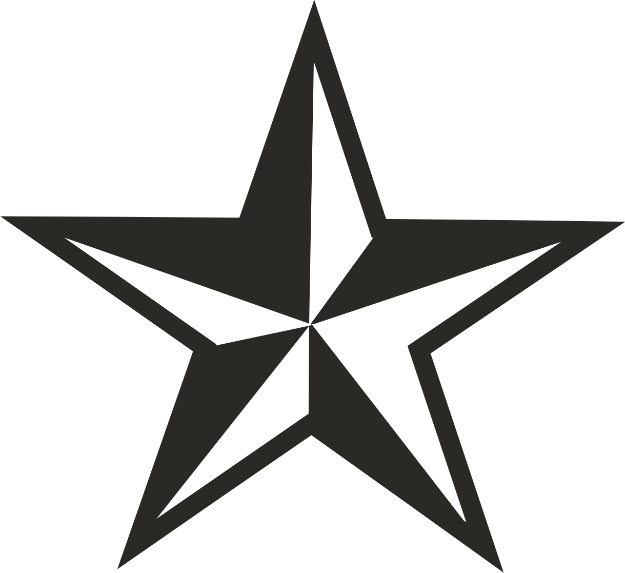 Free stars download on. Star clip art vector
