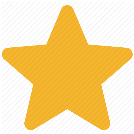 Star icon png. Basic ui rounded colored