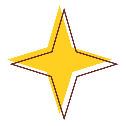 Sharp transparent svg vector. Star icon png