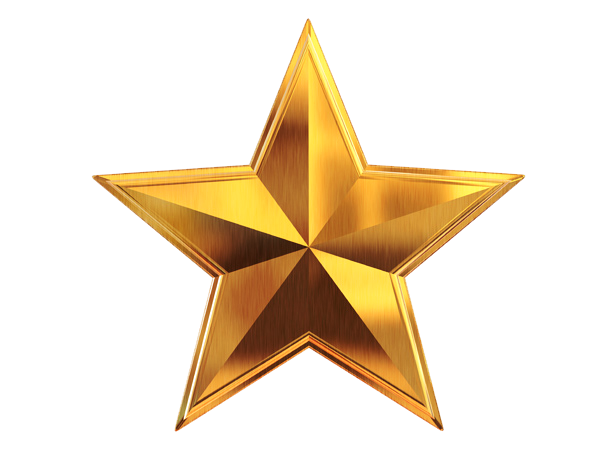 d gold file. Star images png