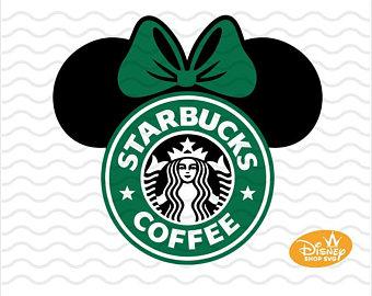 Disney svg etsy . Starbucks clipart ear