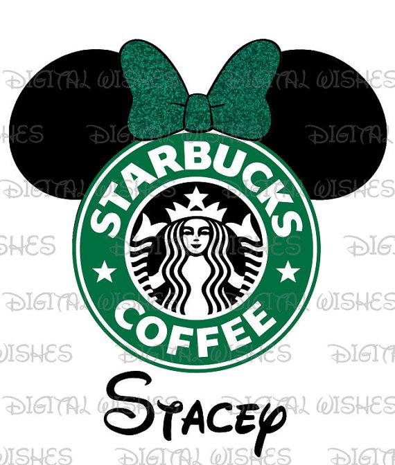 Starbucks clipart ear. Minnie mouse head ears