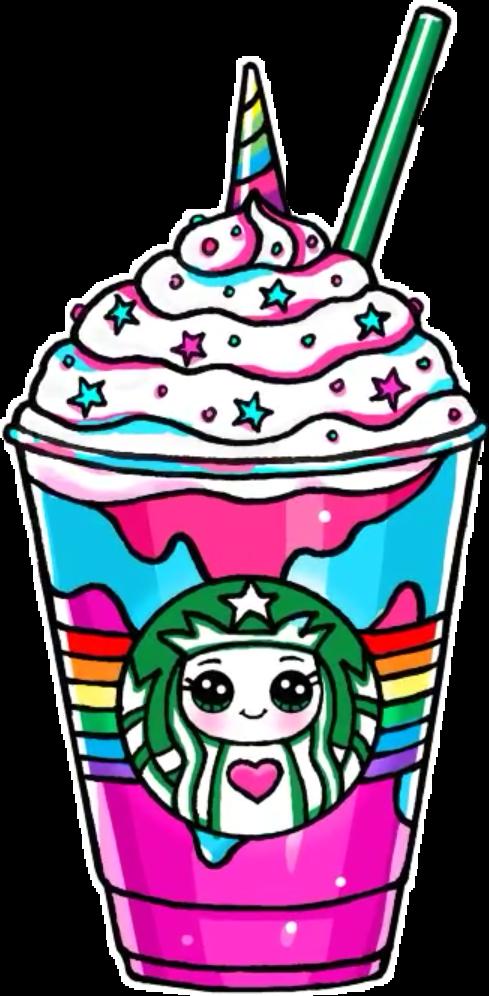 Unicorn report abuse. Starbucks clipart frappuccino clipart