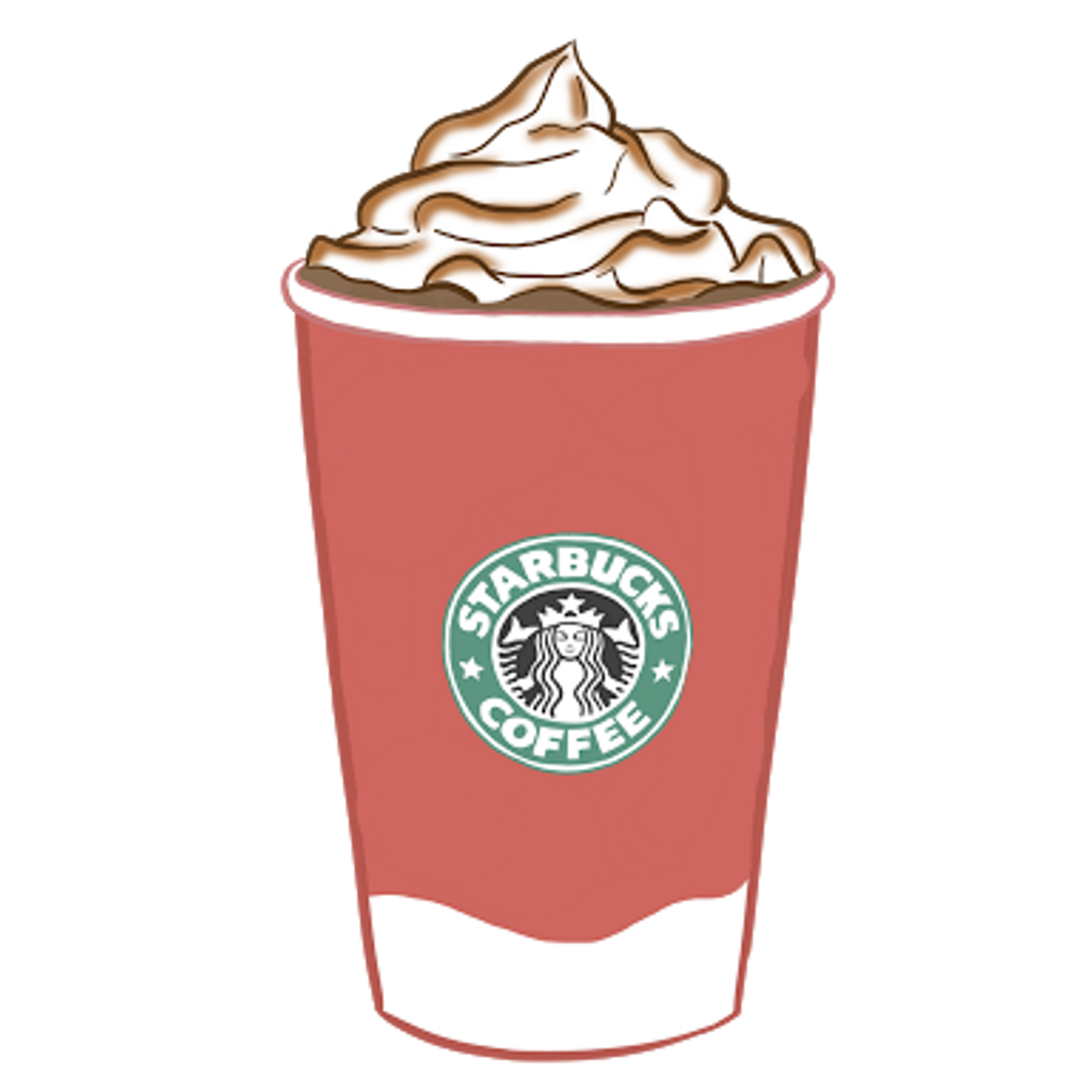 Starbucks clipart logo starbucks. Coffe cafe tumblr delicius