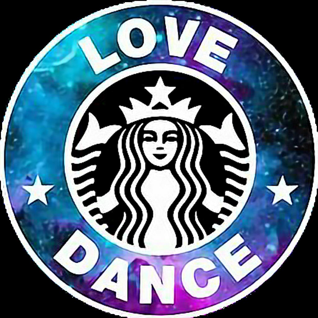 Lovedance edit galaxy. Starbucks clipart logo starbucks