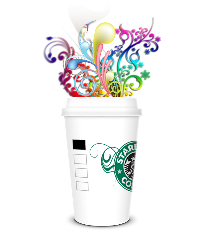 Starbucks clipart tumbler. Frappuccino drawing at getdrawings