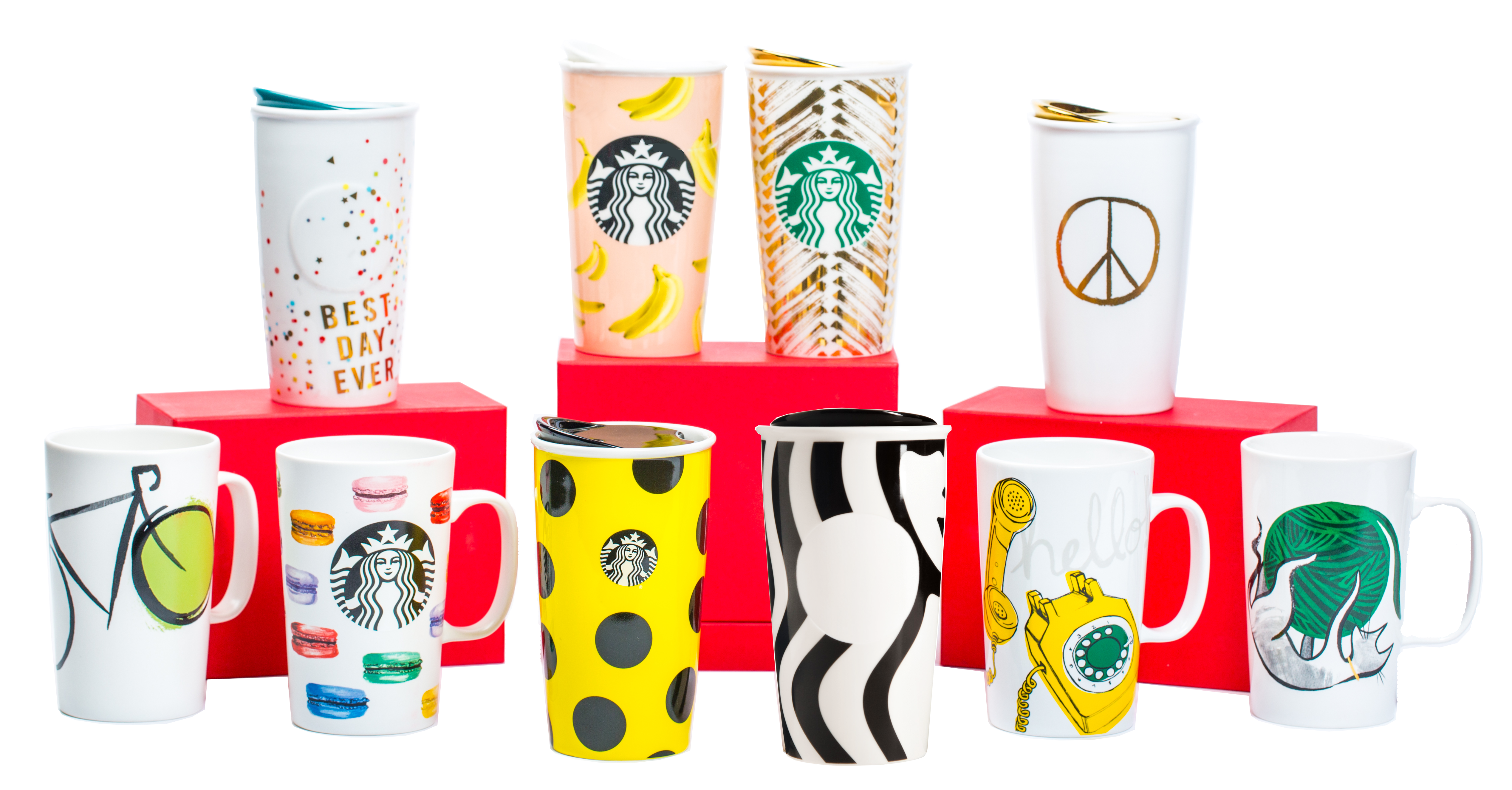 Starbucks clipart tumbler. Holiday collection