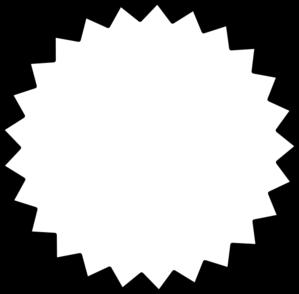 Clip art outline panda. Burst clipart starburst