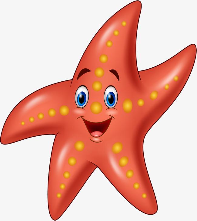 Starfish clipart. Cartoon png vectors psd