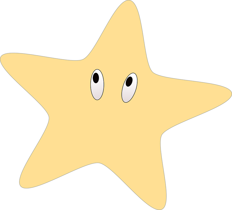 Outline shop of library. Starfish clipart gambar