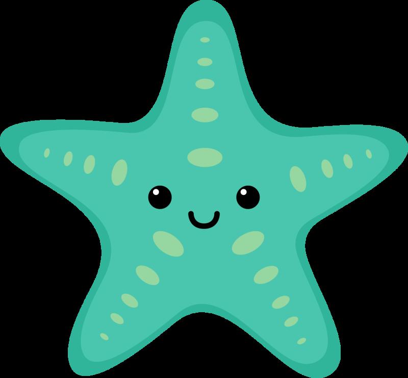 Sea life pink free. Starfish clipart simple